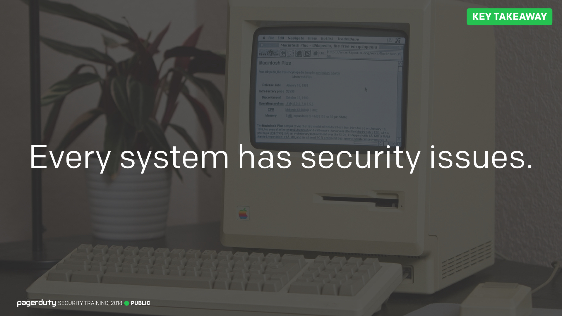 For Engineers - PagerDuty Security Training