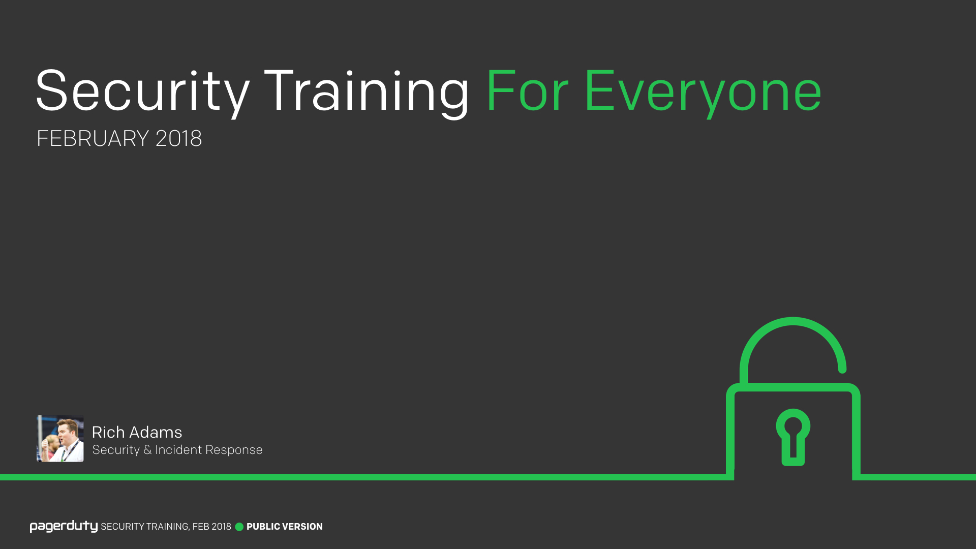 For Everyone Pagerduty Security Training Lock Diagram Quotes 001